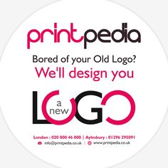 Need a New #LOGO , Company  #Branding  , #BusinessStationery ? Get in touch with us today on 07507910808 or 02080046800.  #Aylesbury   #LogoDesignUK   #LogoDesignerUK   #LogoDesignLondon   #LogoDesignerLondon   #BrandingLondon   #BrandingUK   #MiltonKeynes   #Oxfords   #Chesham   #Leeds    www.printpedia.co.uk