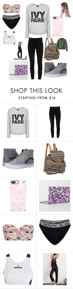 """Ivy park"" by maiamichelle3 ❤ liked on Polyvore featuring Topshop, Elie Tahari, Vans, Speck, Billabong, adidas and Victoria's Secret"