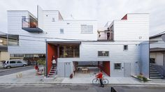 Japanese apartment complex maximizes light and air - Curbedclockmenumore-arrow : Cool!
