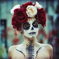 Inspire Bohemia: Sugar Skull: My Day of the Dead (Día de Muertos) Halloween Costume Inspiration!