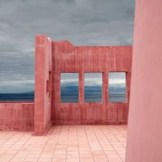 Pink Wall, Tenerife, Canary Islands, Spain by Julio Lopez Saguar Tenerife, Architecture Design, Casa Patio, Gris Rose, Pink Walls, Everything Pink, Canary Islands, Interior Exterior, Pink Aesthetic