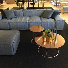 Boxplay sofa - Claesson Koivisto Rune / Breeze table - Monica Förster