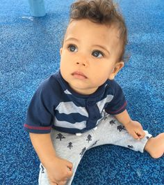Dominican and African-American 1 year old baby boy(my brother) T Baby, Baby Love, Baby Kids, Cute Mixed Babies, Cute Babies, Beautiful Children, Beautiful Babies, Lightskin Babies, Baby Family