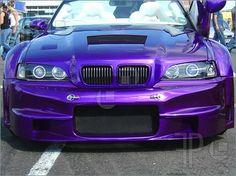 Pics of A modified car at a car show