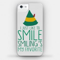 Not really into seasonal phone covers, or phone covers at all for that matter. But this i would use. I love Elf.