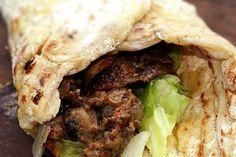 Muurikka – maten & kärleken… Norrlandskebab med nybakat, mjukt tunnbröd och renskav
