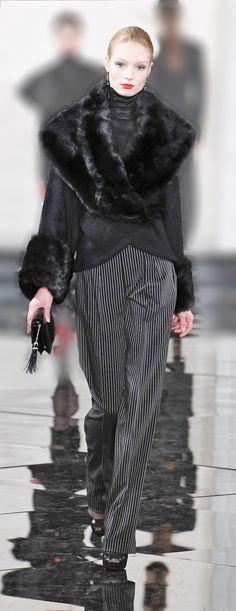 Ralph Lauren 2014 Still wish it was real fur.