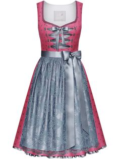 """Leuchtend rosa Dirndl mit Spitzenschürze """"Sienna pink"""" von Miss LIMBERRY  online kaufen ✓Versandkostenfrei 22d9810361"""