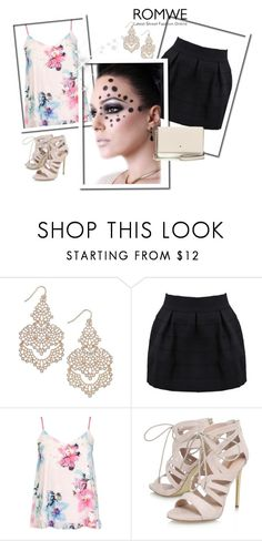 """""""Untitled #29"""" by amrafashion ❤ liked on Polyvore featuring INC International Concepts, Dorothy Perkins, Carvela and Kate Spade"""