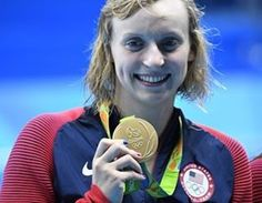 Katie Ledecky picked up her third gold medal of the Rio Games as the U.S. won…