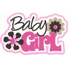 Silhouette Design Store - View Design baby girl title with flowers Silhouette Cameo, Silhouette Online Store, Silhouette Design, Girl Baby Shower Decorations, Baby Decor, Best Baby Blankets, Baby Shower Souvenirs, Baby Journal, Baby Clip Art