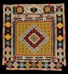 quilt museum7--medallion quilts