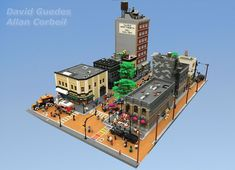 Memory Lane | Built by David Guedes & Allan Corbiel via Flickr . https://flic.kr/p/23u7y8x . One of the main reason why I like modulars so one day when I have the room for it to build a small town. Love what David and Adam did with this fully custom town. The idea for this build was based on a place in Vancouver(Gastown). There are tons of details that are noticeable. Swipe through to admire this awesome build . #lego #legogram #legocreator #instalego #legoarchitecture #architecture #toys…
