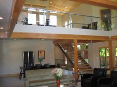 wood trim, contemporary