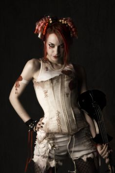 Love the Hospital Goth girl. Can't wait to hear her play the fiddle. Along the lines of someone we know... any guesses?