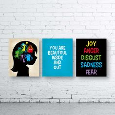 Classroom Inside Out Wall Art Prints-Instant Download-Set of three (3).Teacher Inside Out Prints. You Are Beautiful Inside And Out Print.Joy by WISHBIGPAPER on Etsy https://www.etsy.com/listing/247385282/classroom-inside-out-wall-art-prints