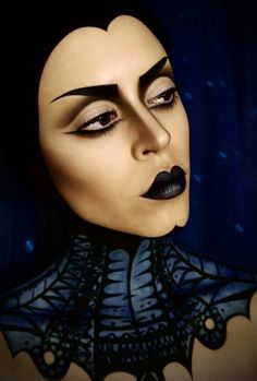 böse königin-schneewittchen-hexe schminken-Hübsch hässlich