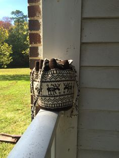 Another purse for nature lovers.  $75.00 plus s&h.  Check it out on Etsy.com at The Knitted Yarn shop