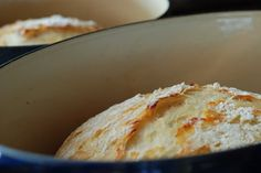 Dutch Oven Bread ~ 3 different recipes. Says it's super easy, and very tasty! We'll have to see...