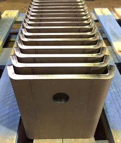 Heavy duty metal brackets formed by Steeltec Products