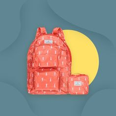 Save up space in your luggage for your next trip! This bag isn't just cute, it's foldable too ✈️ Bench, Backpacks, Space, Cute, Bags, Accessories, Instagram, Fashion, Floor Space