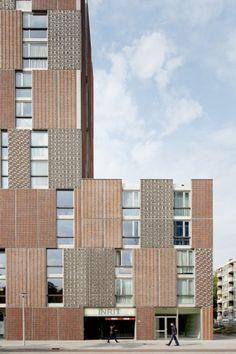Block A Noordstrook in Amsterdam, The Netherlands by Dick van Gameren architecten