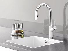 Blanco Subline 500-F kjøkkenkum, Silgranit 527x400 mm, silgranitfarge Hvit – flere fargevalg! - vvskupp.no Sink, Modern, Kitchen, Home Decor, Google, Kitchen Sinks, Colors, Soap Dispenser, Soaps