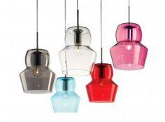 Zeno SP1 lampada a sospensione in vetro colorato