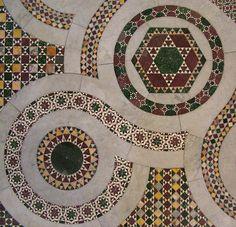 Cattedrale di Anagni, pavimento cosmatesco - Anagni cathedral, cosmatesque pavement