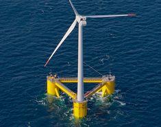 California eyeballs floating offshore wind turbines for renewable energy...