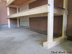 2x4+used+as+shims+to+level+the+garage+shelf+concrete+slab+pad+crack+(Large).JPG (1440×1080)