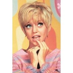 Goldie Hawn- Laugh-In.  :)