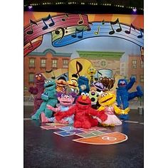 """Sesame Street Live """"Elmo Makes Music"""" coming to the Bell Auditorium June 4 & 5!"""