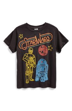 Junk Food 'Star Wars - R2D2 & C3PO' T-Shirt (Toddler Boys) available at #Nordstrom