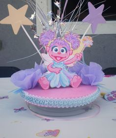 PARTY CENTERPIECE SUPPLIES ABBY CADABBY BIRTHDAY cakepins.com