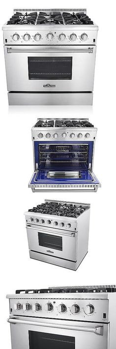ranges and stoves 30 gas range 4 burners w gridldle stainless steel thor kitchen cooker stove u003e buy it now only on ebay pinterest stove