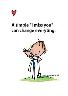 """A simple """"I miss you"""" can change everything. Men are so oblivious sometimes. Words Quotes, Me Quotes, Sayings, Random Quotes, Live And Learn Quotes, Mottos To Live By, Facebook Quotes, Lessons Learned In Life, Learning Quotes"""