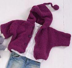 Süße Babyjacke Häkeln Anleitung Handarbeit Crochet Baby