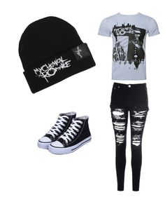 """""""My Chemical Romance"""" by iidreamcatcherii ❤ liked on Polyvore featuring beauty and Glamorous"""