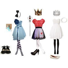 Alice in wonderland alice in wonderland outfit, wonderland costum Alice In Wonderland Outfit, Wonderland Costumes, Alice In Wonderland Accessories, Casual Cosplay, Cosplay Outfits, Outfits For Teens, Cute Outfits, Disney Inspired Fashion, Character Inspired Outfits