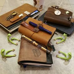 Leather Notebook, Leather Journal, Book Journal, Journals, Agenda Book, Stationery Pens, Calligraphy Pens, Dear Diary, Writing Instruments