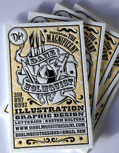 25 incríveis cartões de visitas para inspiração | Criatives | Blog Design, Inspirações, Tutoriais, Web Design