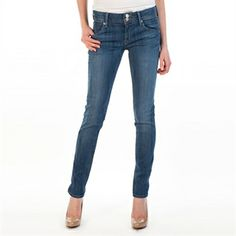 Hudson Jeans Women's Contemporary Collin Mid Rise Skinny Jean