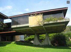 Aldo Ricci's residence Barquisimeto Venezuela, architect Fruto Vivas