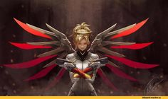 Mercy (Overwatch),Overwatch,Blizzard,Blizzard Entertainment,фэндомы,Overwatch…