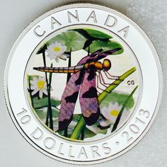 Canadian Coins, Coin Collecting, Silver Coins, Outdoor Living, Wildlife, Presents, Mint, Canada