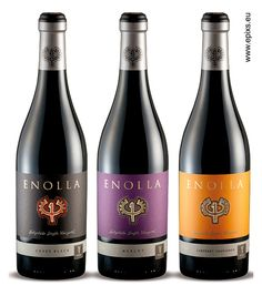 Enolla Wines by the Labelmaker by the Labelmaker, via Behance  http://www.epixs.eu