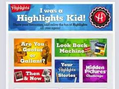Were You a Highlights Kid? Enter to #Win Fun Swag and a 1-Year Highlights Subscription #Giveaway -- Enter here - http://www.inspiredbysavannah.com/2014/08/were-you-highlights-kid-enter-to-win.html -- Ends 8/26