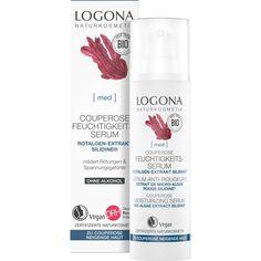 Sérum Anti-Rougeurs Bio & Vegan LOGONA Fragrance Parfum, Shampoo, Vegan, Bottle, Cleanser, Organic Beauty, Flask, Vegans, Jars