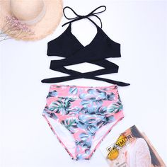 Dollhouse Boutique Pink Crystal Swimsuit crystal design beach ibiza celeb style